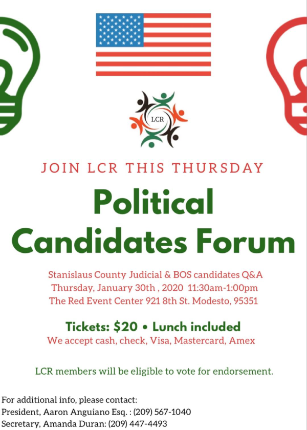 January-2020-flyer-political-forum-candidates